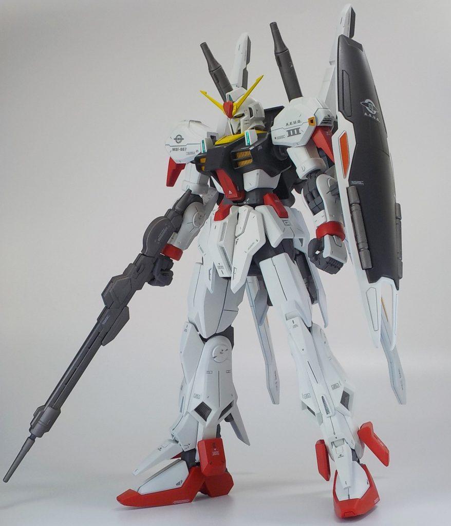 RE 1/100 ガンダムマークⅢ マークⅡイメージカラー