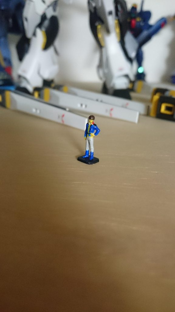 Hi-νガンダム RX-93NT 制作工程1