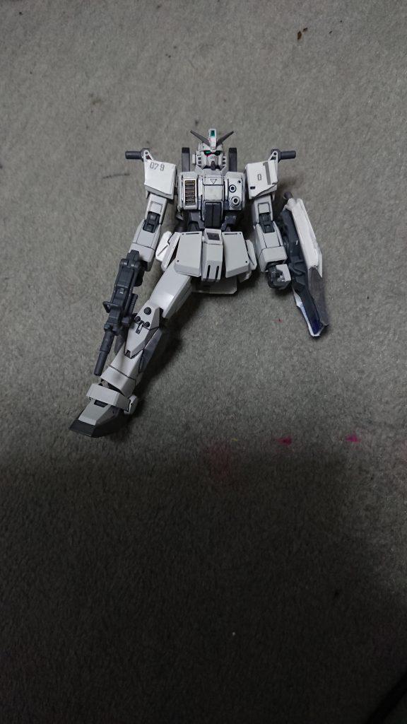"""RX-79E 79式""""白蓮"""" 制作工程2"""