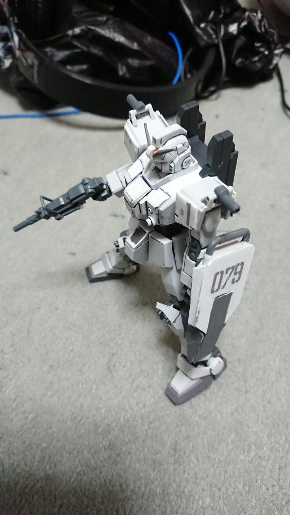 """RX-79E 79式""""白蓮"""" アピールショット1"""