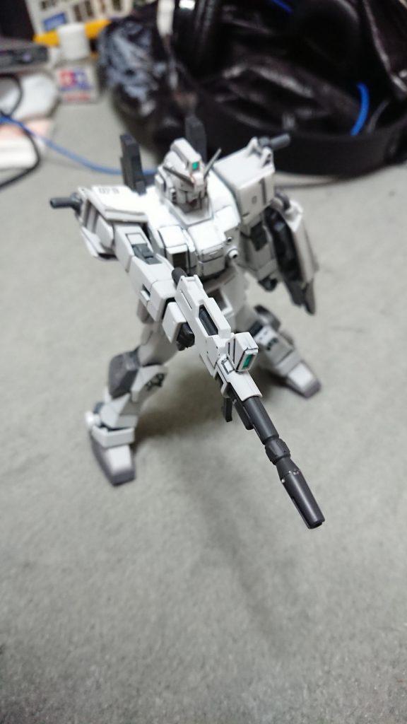 """RX-79E 79式""""白蓮"""" アピールショット3"""