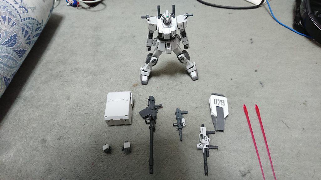 """RX-79E 79式""""白蓮"""" 制作工程4"""
