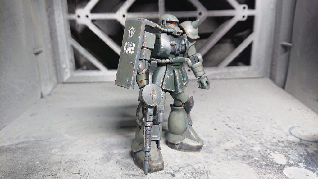 1/144 HG MS-06 量産型ザク アピールショット1