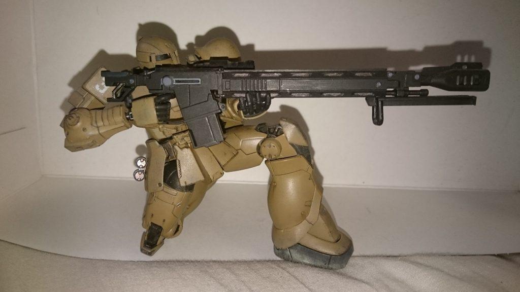 ザクⅠ 対艦ライフル装備