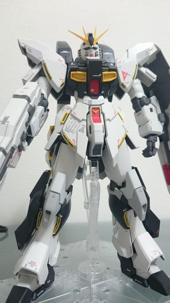 Hi-νガンダム RX-93NT アピールショット1