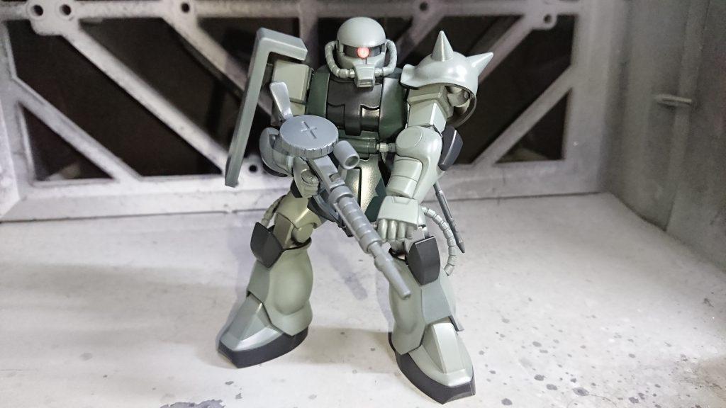 1/144 HG MS-06 量産型ザク 制作工程3