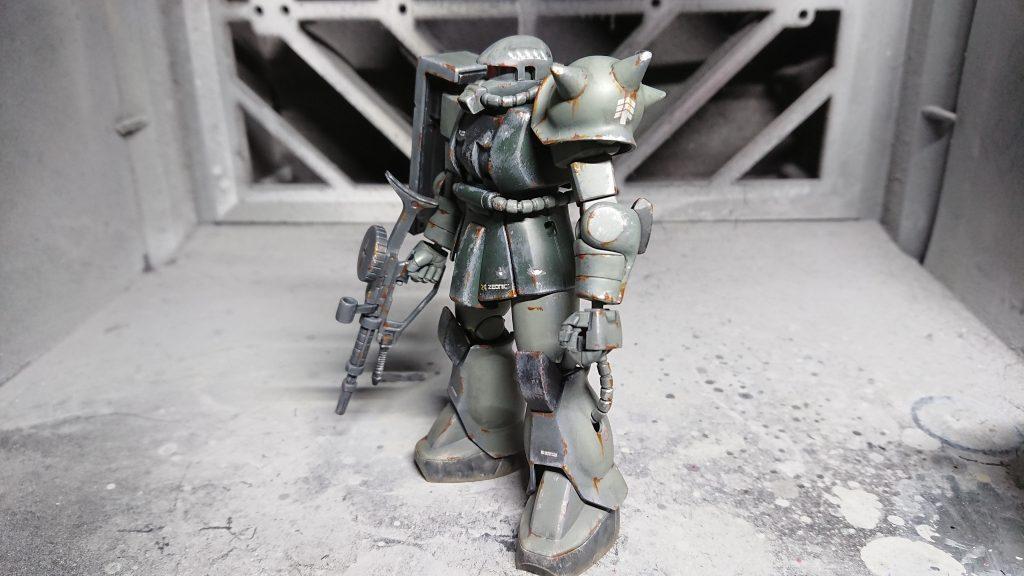 1/144 HG MS-06 量産型ザク アピールショット2