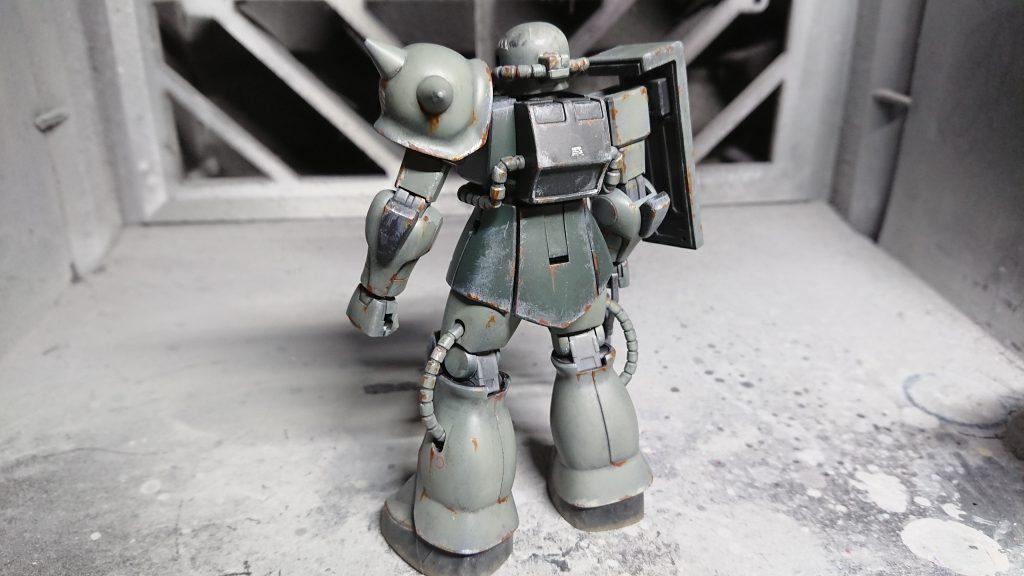 1/144 HG MS-06 量産型ザク アピールショット3