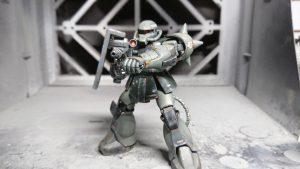 1/144 HG MS-06 量産型ザク