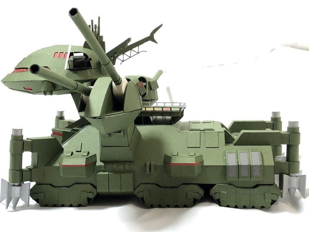フルスクラッチ・ダブデ陸戦艇 (紙) アピールショット2