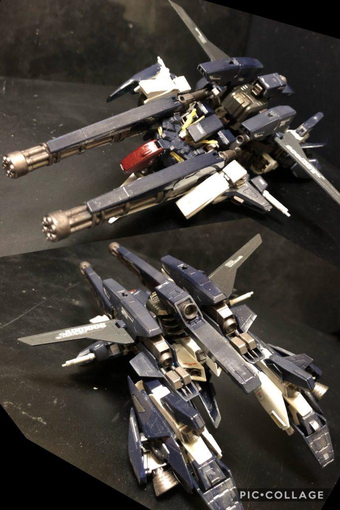 Oy−Zガンダム (Orbital-ascendancY Z GUNDAM) 制作工程5