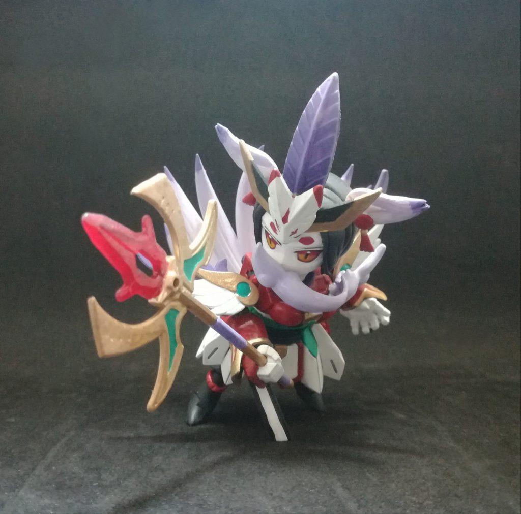 九尾狐 アピールショット2