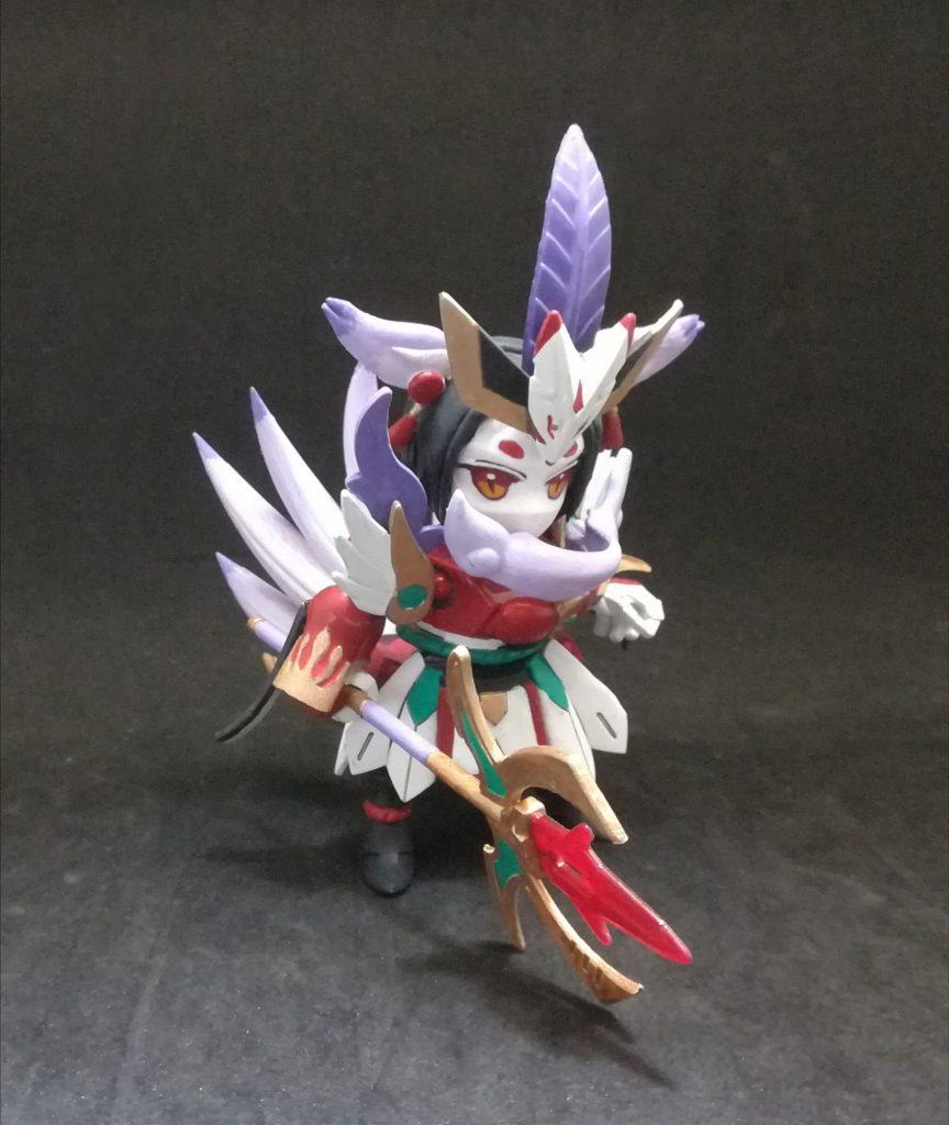 九尾狐 アピールショット3