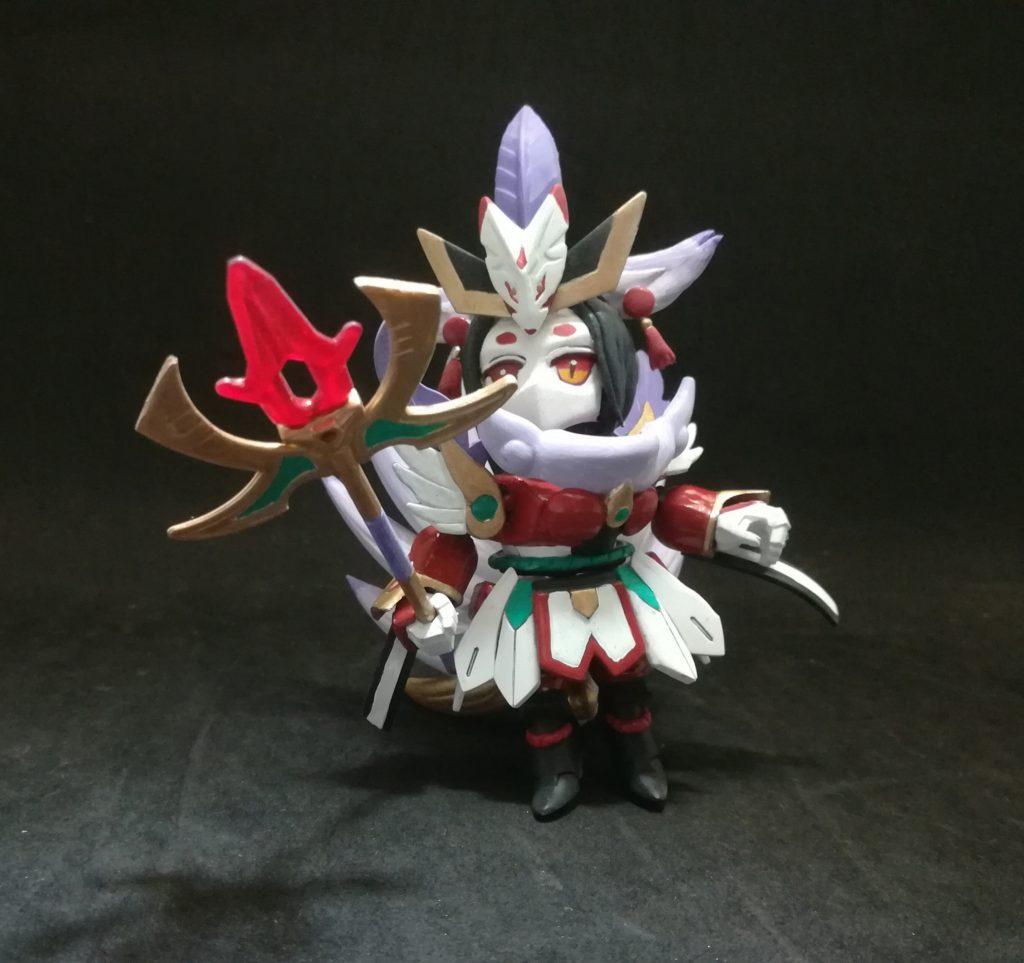 九尾狐 アピールショット4
