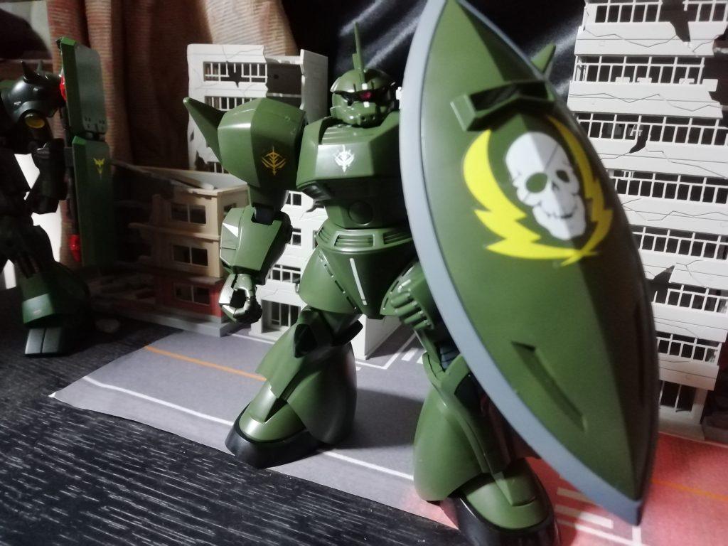 ゲルググ ヴィッシュ・ドナヒュー専用機 アピールショット2