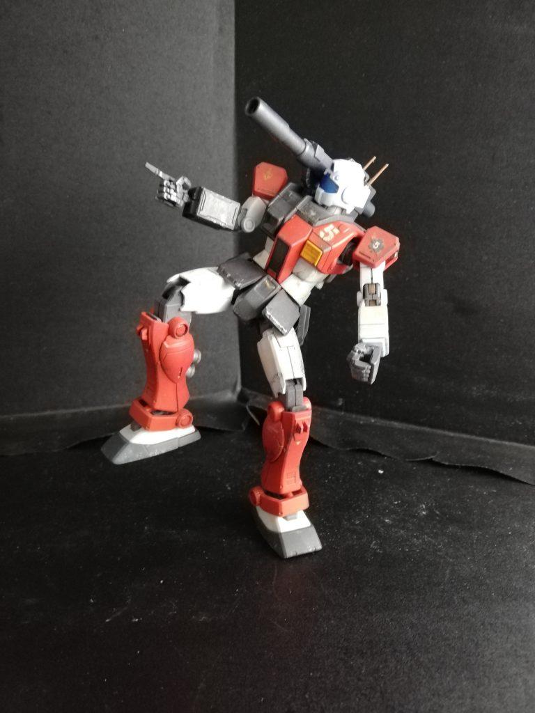 HG 1/144 ジム・キャノン(空間突撃仕様) 制作工程1