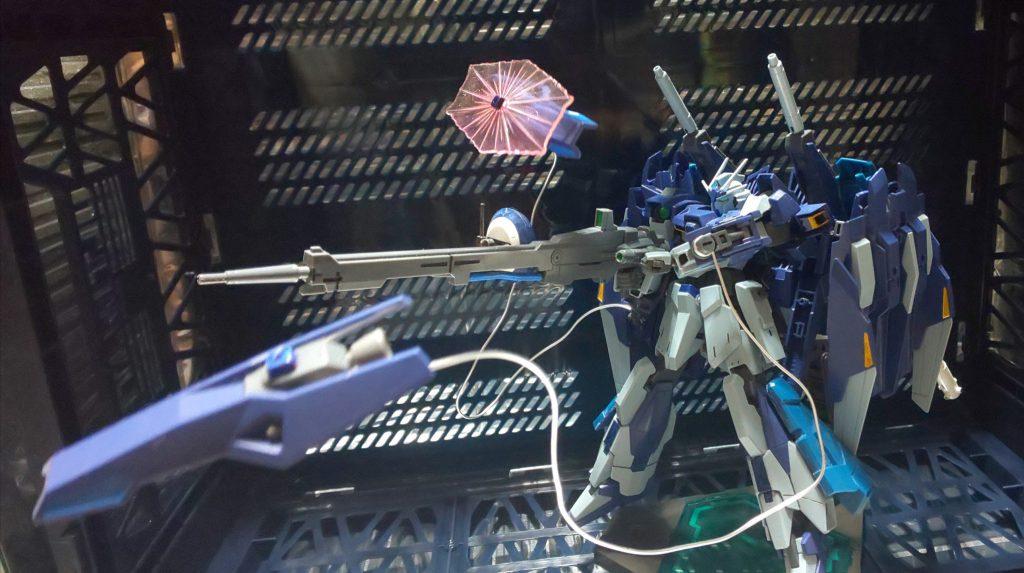 ライトニングガンダムι(イオタ) アピールショット1