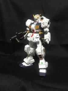 電ホビ付録版1/144 RX-121-1 ガンダムTR-1 ヘイズル改