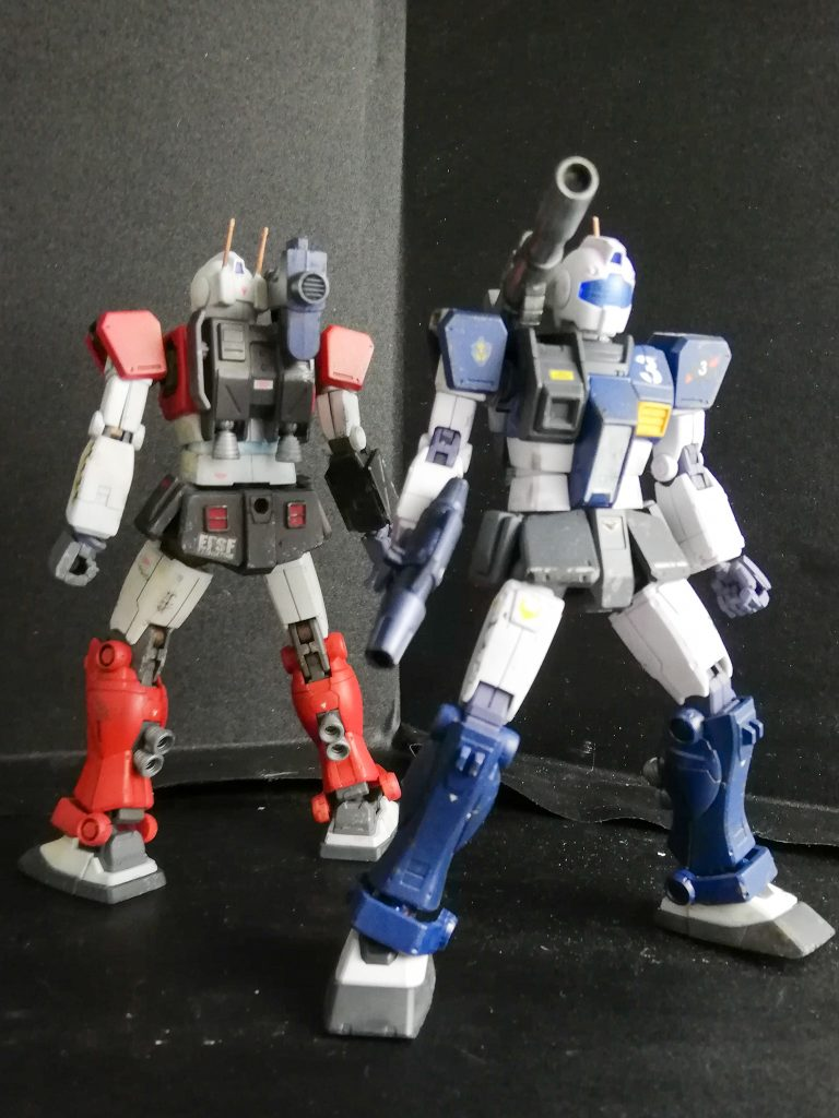 HG 1/144 ジム・キャノン(空間突撃仕様) アピールショット3