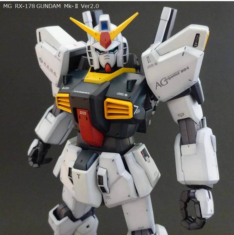 MG ガンダムMk-Ⅱ Ver.2.0