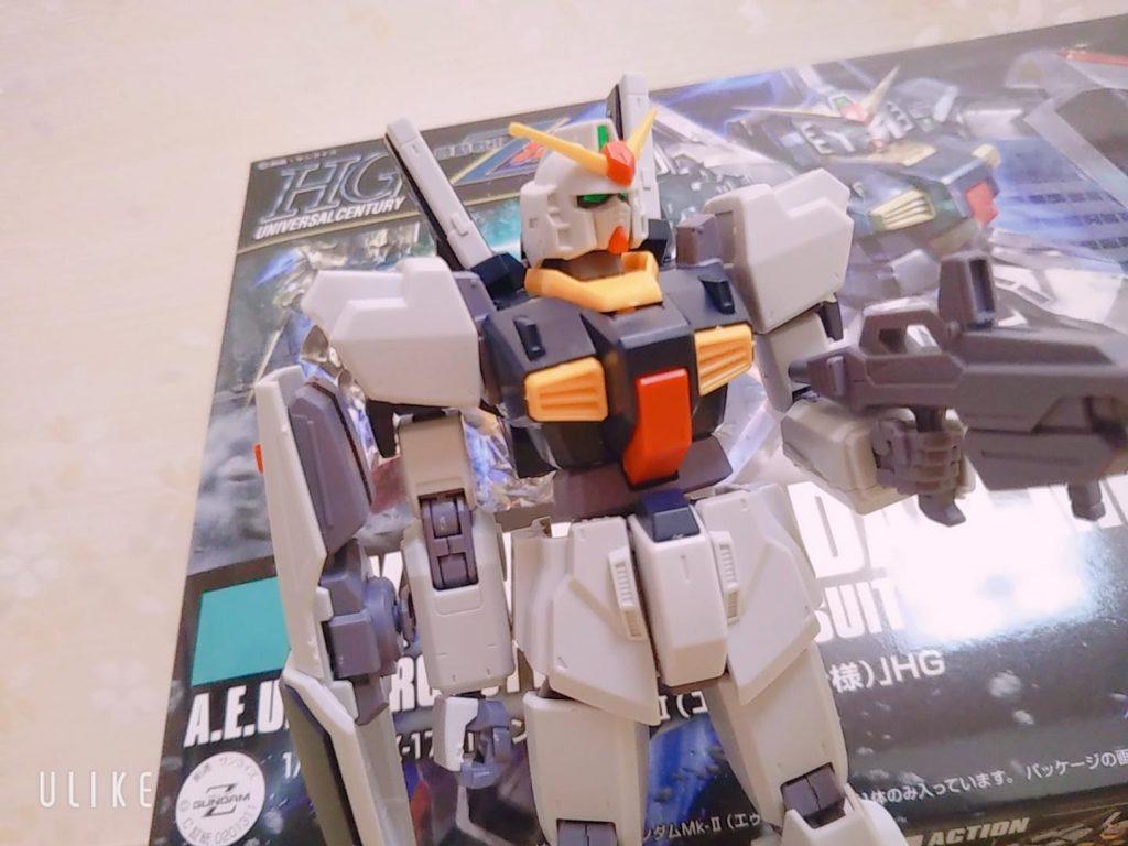 【5歳ガンプラ】HG GUNDAM Mk-Ⅱ エゥーゴ仕様