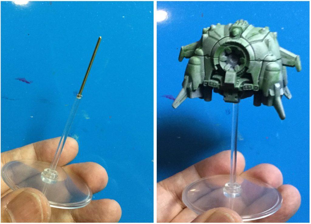手の平サイズのアプサラスⅡ 制作工程3