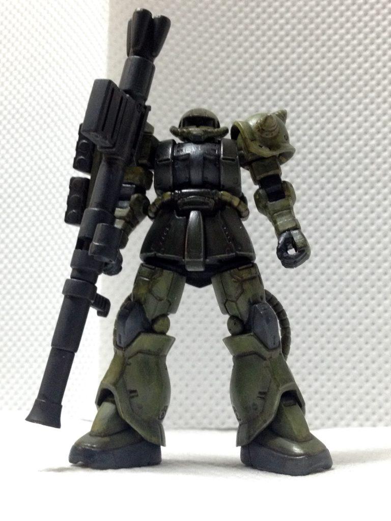 ガシャプラ 量産型ザクII アピールショット1