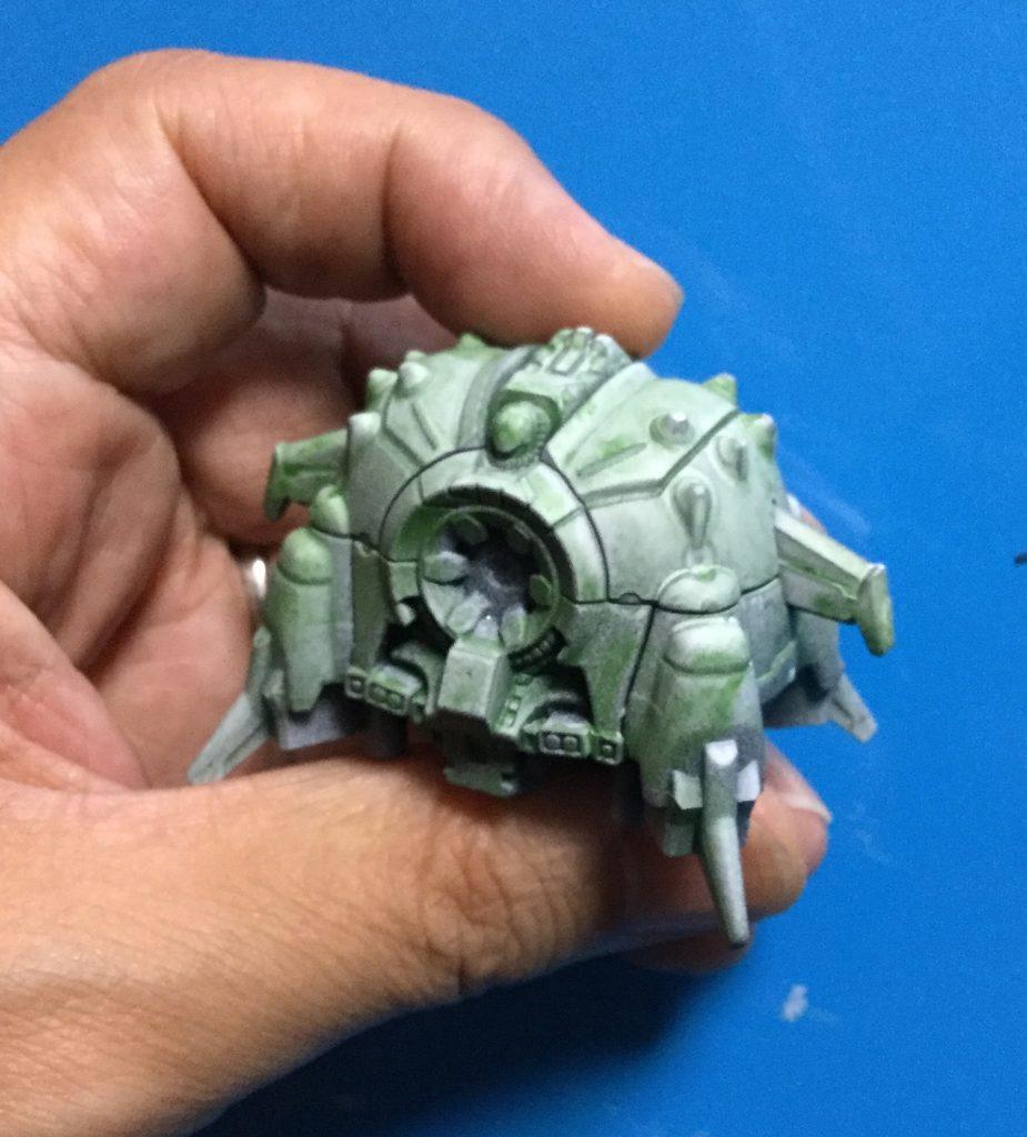手の平サイズのアプサラスⅡ 制作工程2