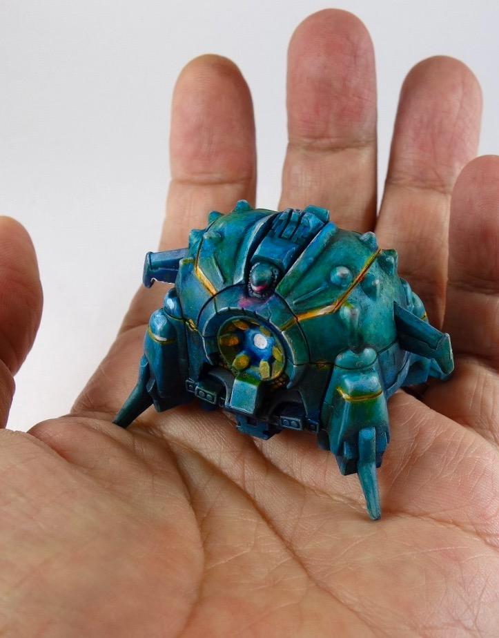 手の平サイズのアプサラスⅡ