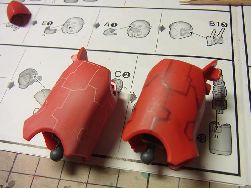 RX-77-2 ガ ンキャノン 制作工程1