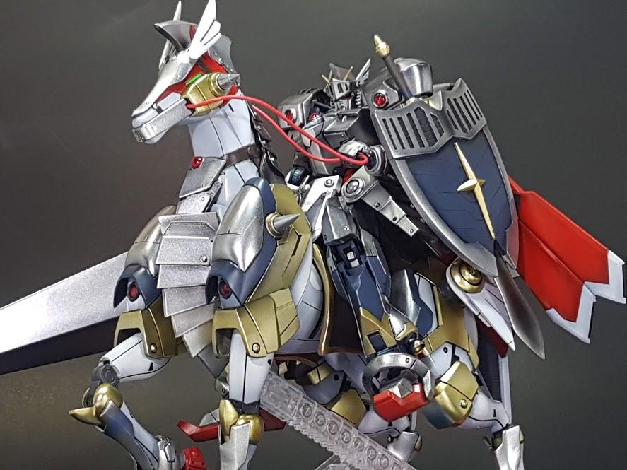 聖騎士ガンダム(+聖戦馬)