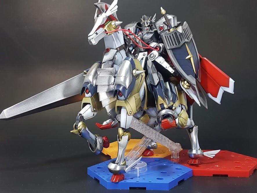 聖騎士ガンダム(+聖戦馬) アピールショット1