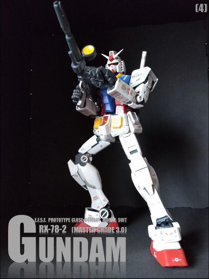 RX-78-2 GUMDAM MASTER GRADE 3.0 No1 制作工程1