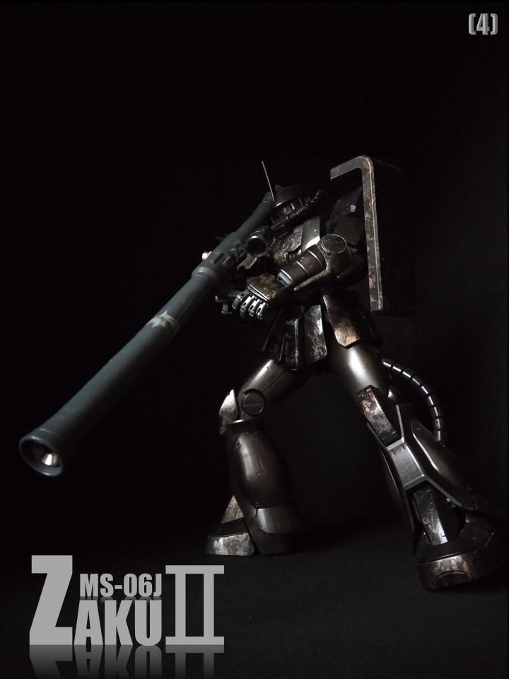 MS-06J ZAKUII No1 アピールショット4