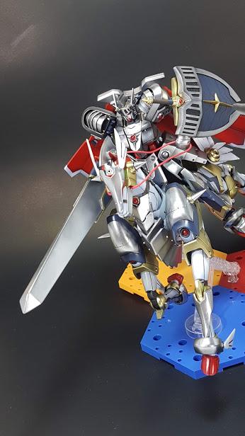聖騎士ガンダム(+聖戦馬) アピールショット2