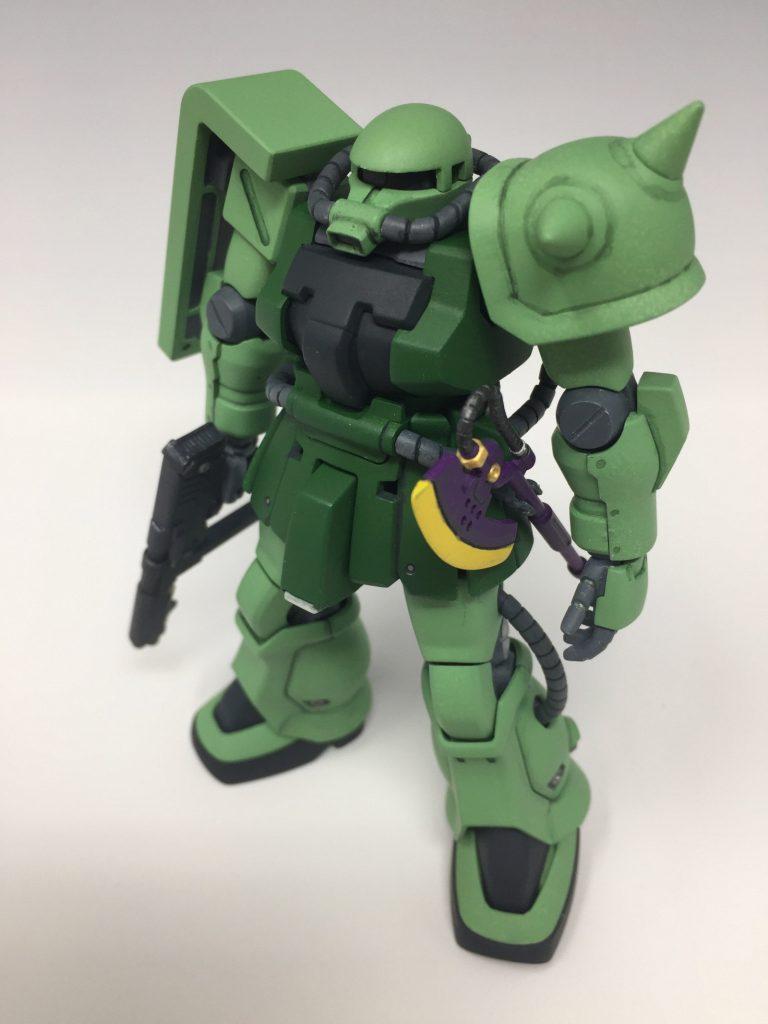 HGUC ザクII F2 ジオン軍仕様 アピールショット2