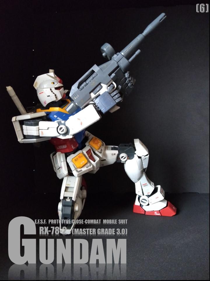 RX-78-2 GUMDAM MASTER GRADE 3.0 No1 制作工程3