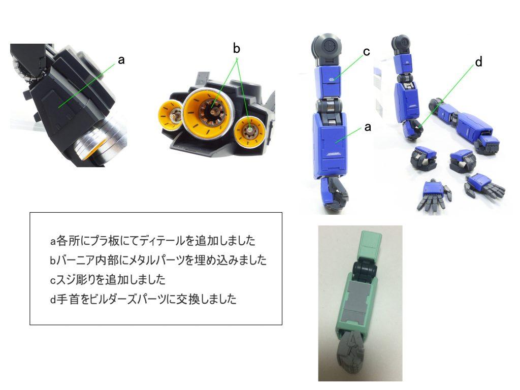 MG ジェガン ユウ・カジマ機 制作工程2