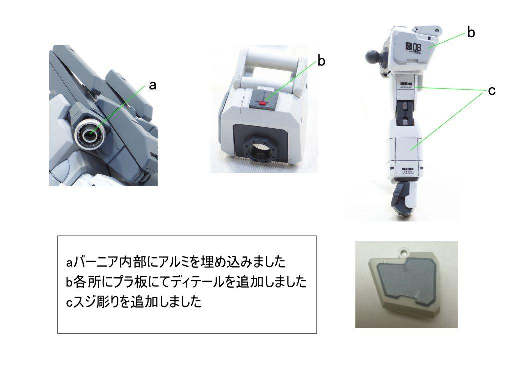 MG ガンダム Ez-8 制作工程2