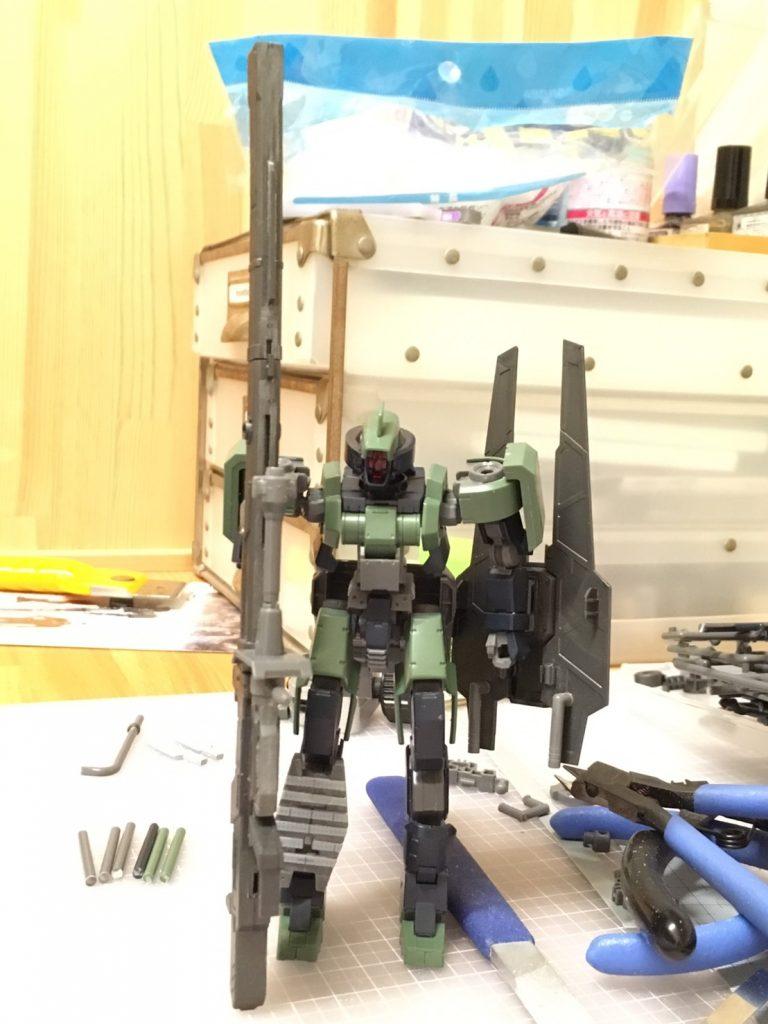 EB-04 Geirail Tathlum (ゲイレール タスラム) 制作工程1