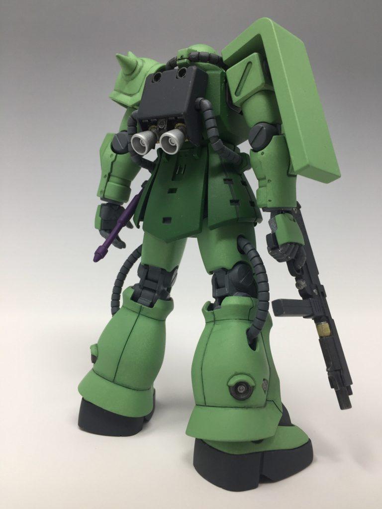 HGUC ザクII F2 ジオン軍仕様 アピールショット3