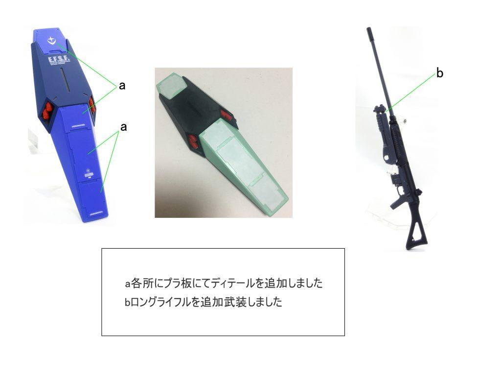 MG ジェガン ユウ・カジマ機 制作工程4