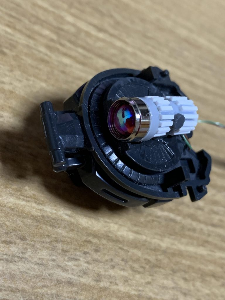 PG 高機動型ザク 制作工程4