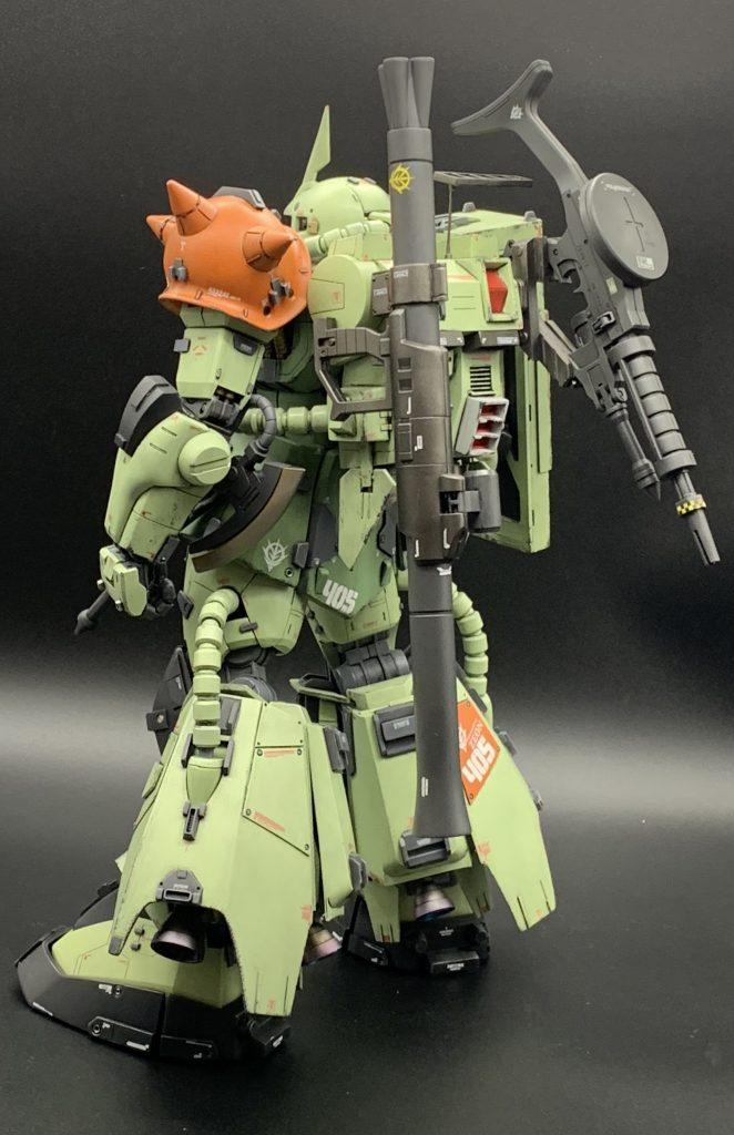 PG 高機動型ザク アピールショット5