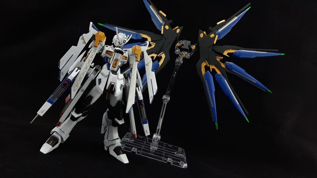 Saint  Freedom  Gundam 制作工程3