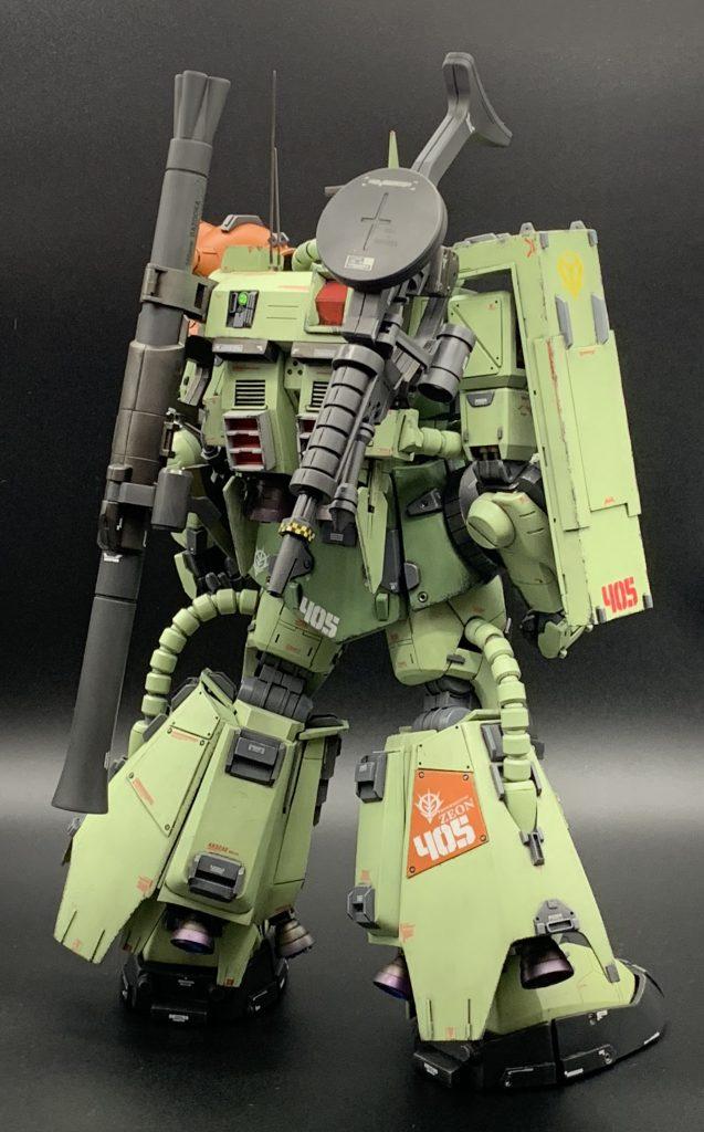PG 高機動型ザク アピールショット6