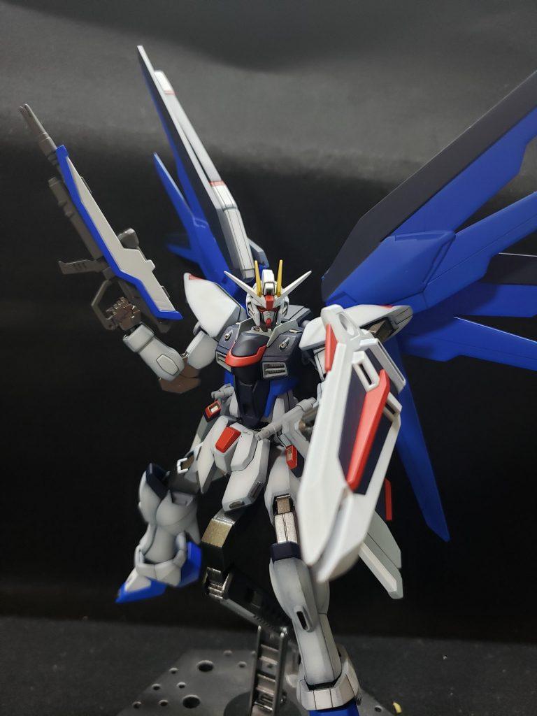 ZGMF-X10A FREEDOM アピールショット3