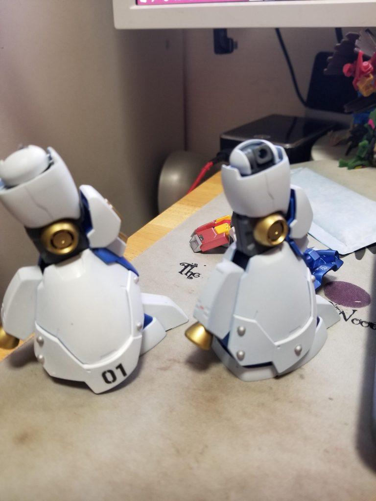 ガンダムAGE-1 ToyiaS (トイアス) 制作工程8
