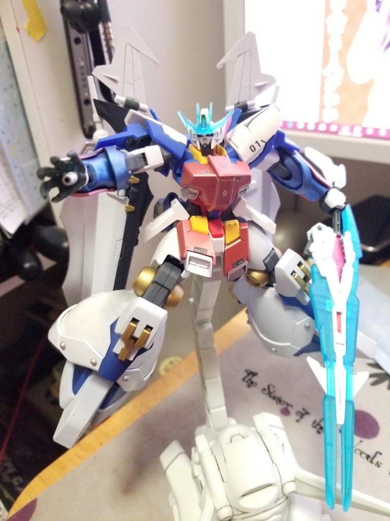 ガンダムAGE-1 ToyiaS (トイアス) アピールショット8