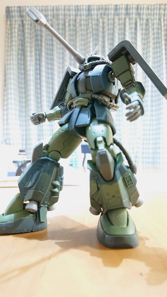 亜州 の緑の 高機動型ザクⅡ